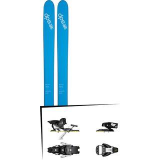 DPS Skis Set: Lotus 120 Spoon Pure3 2016 + Salomon STH2 WTR 13