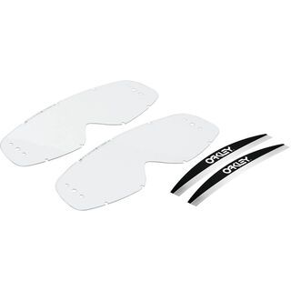 Oakley O Frame MX Roll-Off Replacement Lens, clear - Wechselscheibe