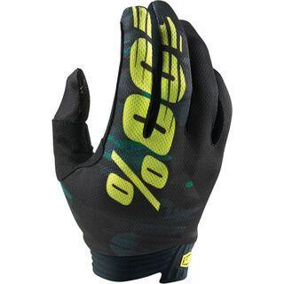 100% iTrack Glove, camo black/green - Fahrradhandschuhe