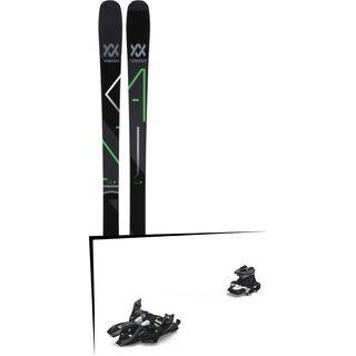 Set: Völkl Kanjo 2018 + Marker Alpinist 12 black/titanium