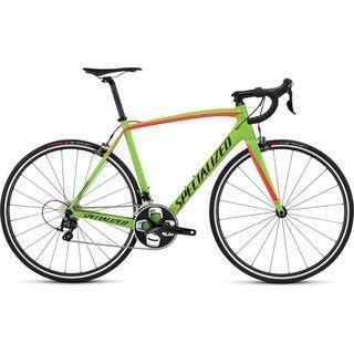 Specialized Tarmac Sport 2016, green/red/black - Rennrad