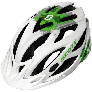 Scott Groove II, white/green matt - Fahrradhelm