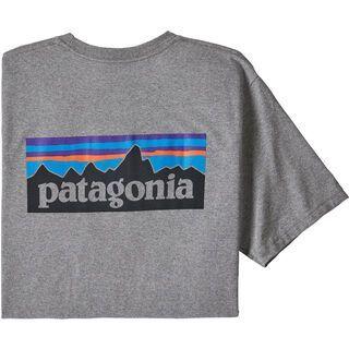 Patagonia Men's P-6 Logo Responsibili-Tee, gravel heather - T-Shirt