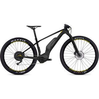 Ghost Hybride Lector SX5.7+ LC 2019, titanium/black/neon yellow - E-Bike