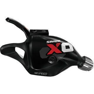 SRAM X0 Trigger - 10-fach, schwarz-rot - Schalthebel