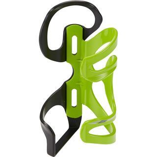 Cannondale Nylon SSR Cage, black/green - Flaschenhalter