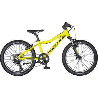 Scott Scale 20 2020, yellow/black - Kinderfahrrad