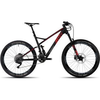 Ghost Riot 8 UC 2017, black/red - Mountainbike