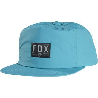 Fox Tones Snapback Hat, aqua - Cap