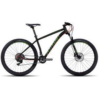 Ghost Kato 7 AL 27.5 2017, black/green/red - Mountainbike