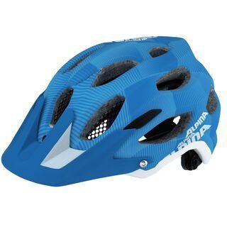 Alpina Carapax, blue-white - Fahrradhelm