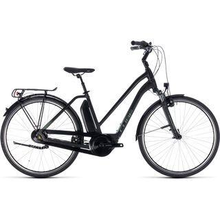 Cube Town Hybrid ONE 500 Trapeze 2018, black´n´frostgreen - E-Bike