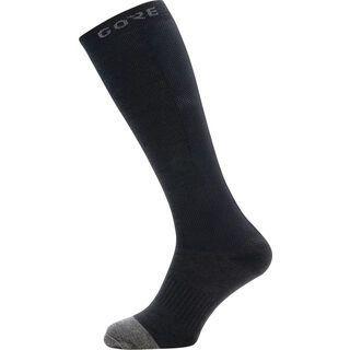 Gore Wear M Thermo Socken Lang, black/graphite grey - Radsocken