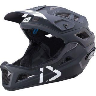 Leatt Helmet DBX 3.0 Enduro V2, black/white - Fahrradhelm