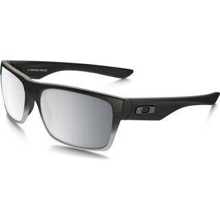 Oakley TwoFace Machinist Collection, matte black/Lens: chrome iridium - Sonnenbrille
