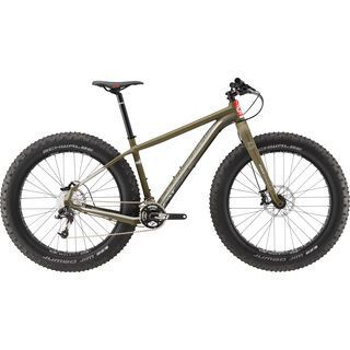 Cannondale Fat CAAD 2 2017, green clay/silver/red - Mountainbike
