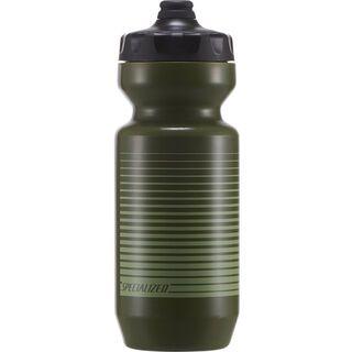 Specialized Purist Fixy 0,65 L, moss green linear stripe - Trinkflasche