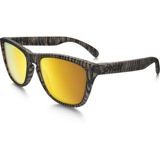 Oakley Frogskins Urban Jungle, matte sepia/Lens: 24k iridium - Sonnenbrille