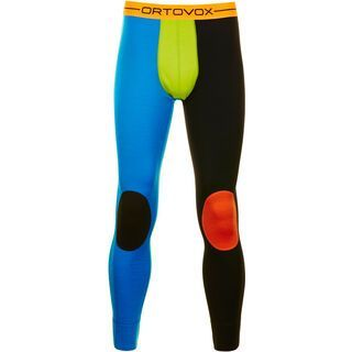 Ortovox Rock 'n' Wool Long Pants, black raven - Unterhose