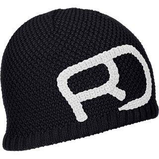 Ortovox Merino Rock'n'Wool Beanie M, black raven - Mütze
