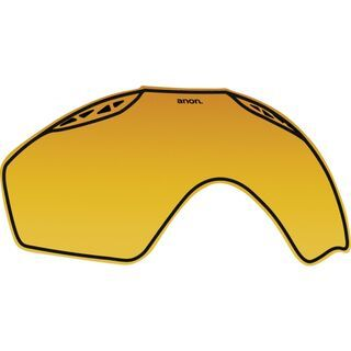 Anon Helix Lens, gold non mirror - Wechselscheibe