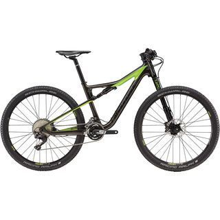 Cannondale Scalpel-Si Carbon Women's 2 2018, anthracite/green/black - Mountainbike