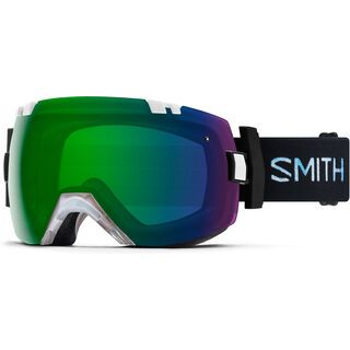 Smith I/OX inkl. Wechselscheibe, squall/Lens: everyday green mirror chromapop - Skibrille