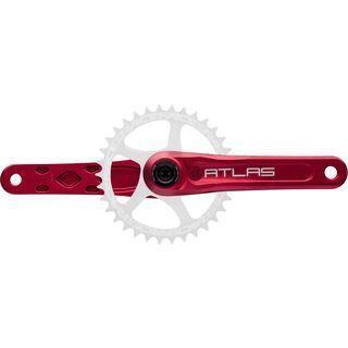 Race Face Atlas Cinch - 83 mm, red - Kurbelsatz