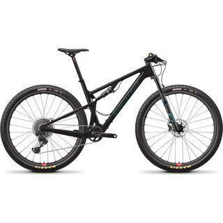 Santa Cruz Blur CC X01 Reserve 2020, carbon/aquarius green - Mountainbike