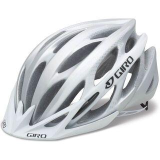 Giro Athlon, matte white/silver - Fahrradhelm