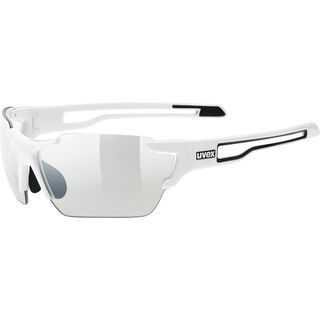 uvex sportstyle 803 v, white/Lens: variomatic smoke - Sportbrille