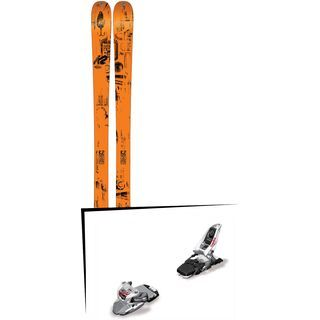 K2 SKI Set: Press 2016 + Marker Squire 11