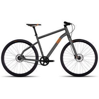 Ghost Square Times 2017, grey/orange - Urbanbike