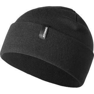 Atomic Alps Rolled Cuff Beanie, black - Mütze