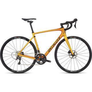 Specialized Roubaix Comp 2017, yellow/moto orange - Rennrad