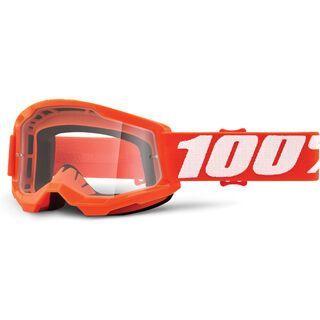 100% Strata Jr - Clear orange