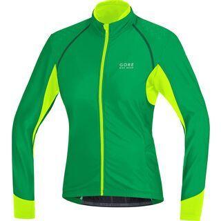 Gore Bike Wear Alp-X 2.0 Thermo Lady Trikot, fresh green/neon yellow - Radtrikot