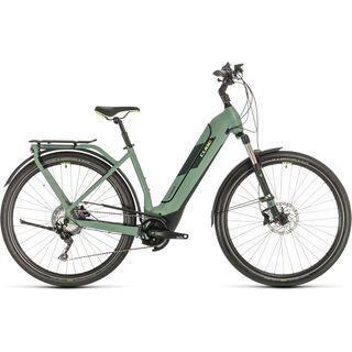 Cube Kathmandu Hybrid EXC 625 Easy Entry 2020, green´n´green - E-Bike