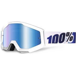 100% Strata, ice age/Lens: mirror blue - MX Brille