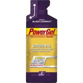 PowerBar PowerGel Original - Black Currant (mit Koffein) - Energie Gel