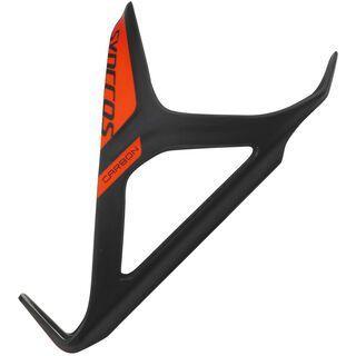 Syncros Carbon 1.0, black/neon orange - Flaschenhalter