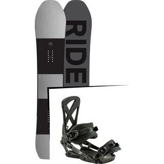Set: Ride Timeless 2017 + Nitro Phantom 2017, midnight - Snowboardset