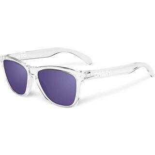 Oakley Frogskins, Polished Clear/Violet Iridium - Sonnenbrille