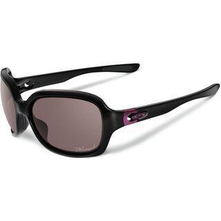 Oakley Pulse, Polished Black/OO Grey Polarized - Sonnenbrille