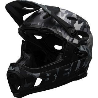 Bell Super DH MIPS, gloss black camo - Fahrradhelm