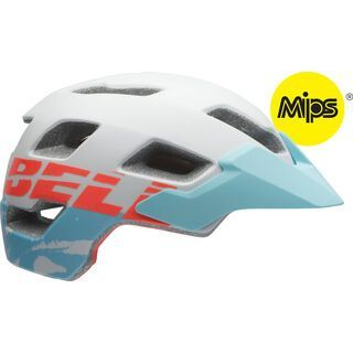 Bell Rush MIPS, matte white blue - Fahrradhelm