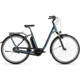 Cube Town Hybrid EXC RT 400 Easy Entry 2019, blue´n´blue - E-Bike
