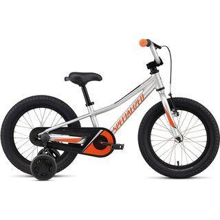 Specialized Riprock Coaster 16 satin light silver/moto orange/black 2021