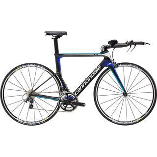 Cannondale Slice Ultegra 2016, matte grey/blue - Triathlonrad