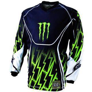 ONeal Ricky Dietrich Replica Monster Jersey, black/green - Radtrikot